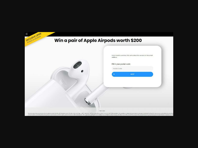 YOUSWEEPS - Win New Airpods (CA)