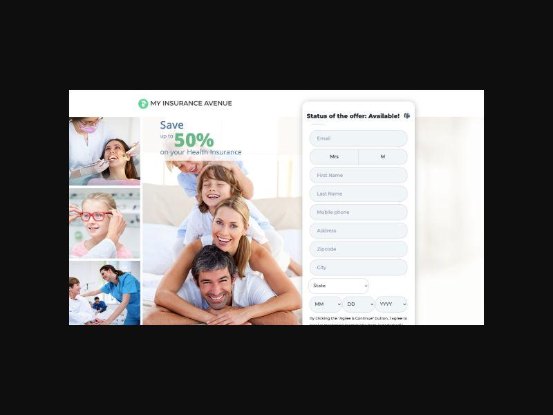 MyInsuranceAvenue Health Insurance (US) SOI