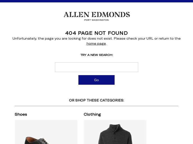 SHOP: Allen Edmonds (Rev Share)   US