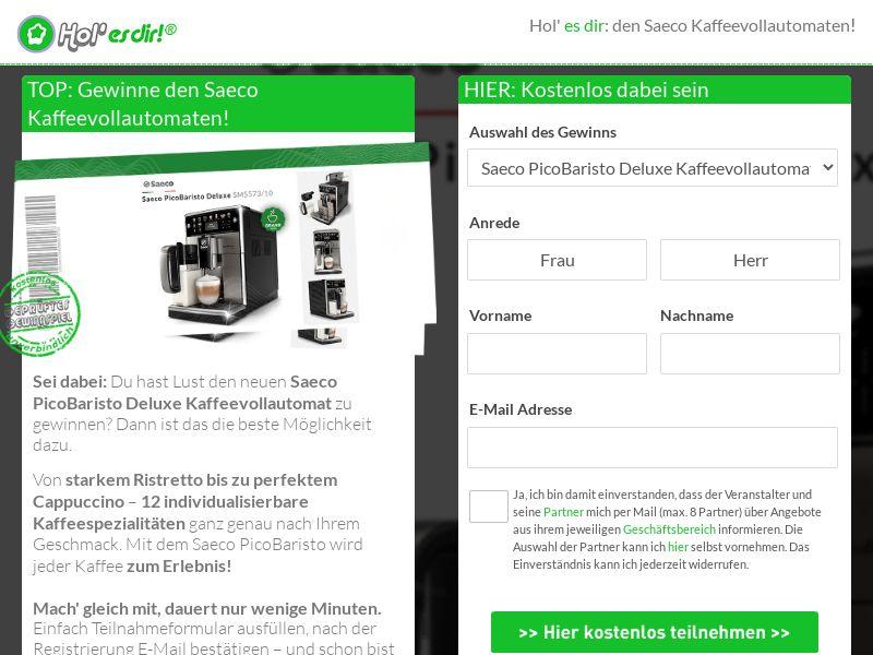 11827) [WEB+WAP] Saeco Kaffemaschine - DE - CPL