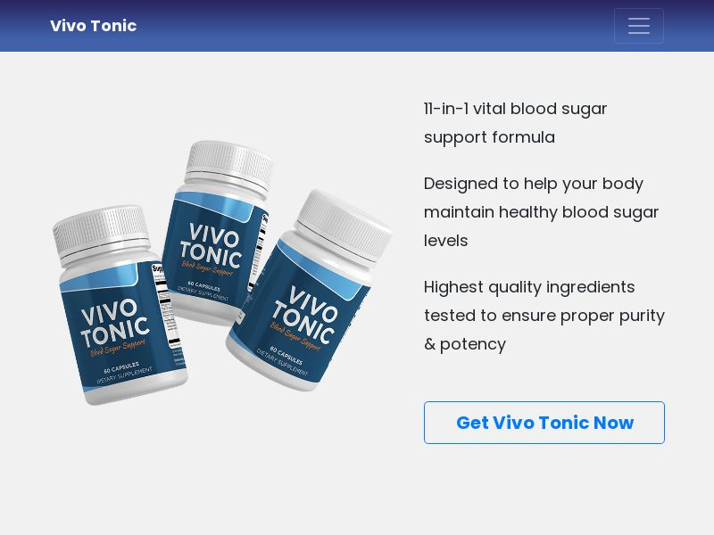 Vivo Tonic (US, CA) (CPS) (Personal Approval)