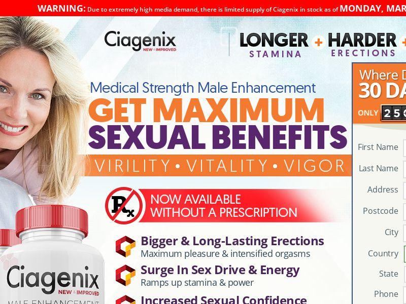 Ciagenix SS - CA (No Brand Bidding)