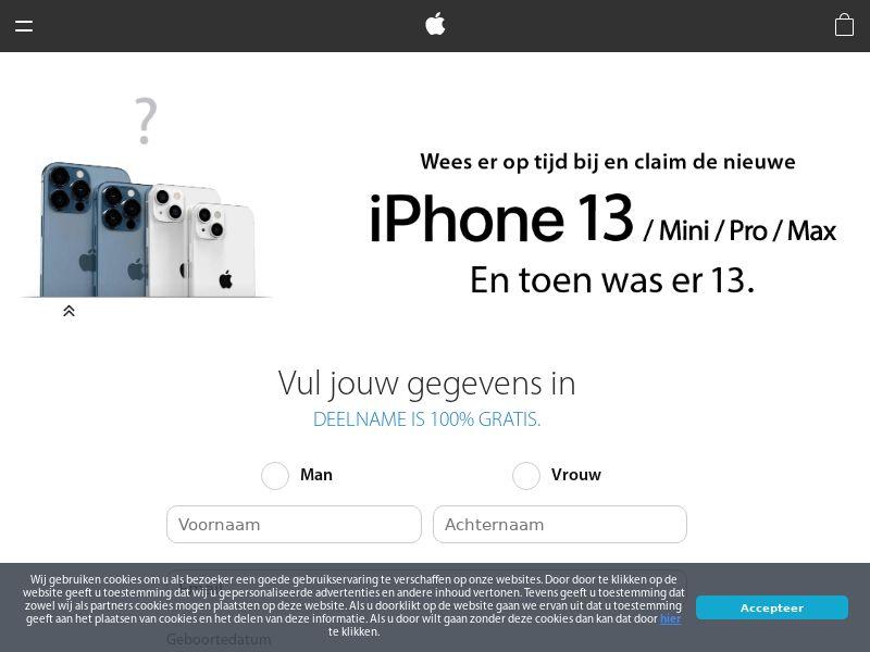 iPhone 13 - NL (NL), [CPL]