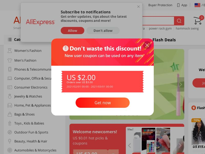 Aliexpress.com CPS - Worldwide