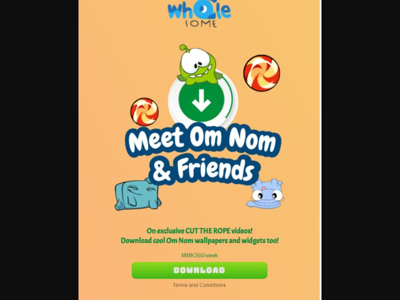 Omnomdownload - 2 Clicks - MM - Online Games - Mobile