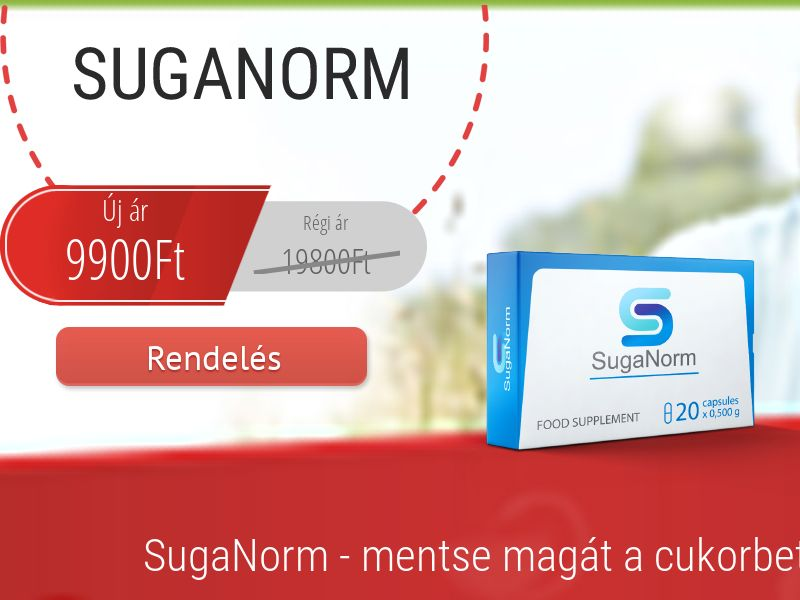 SugaNorm HU - sugar control supplement
