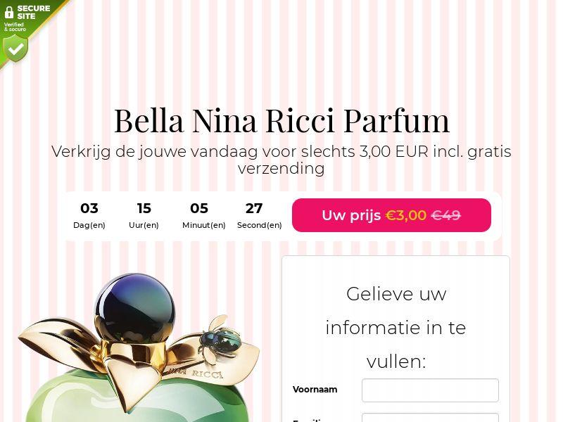 Bella Nina Ricci Perfume - BE