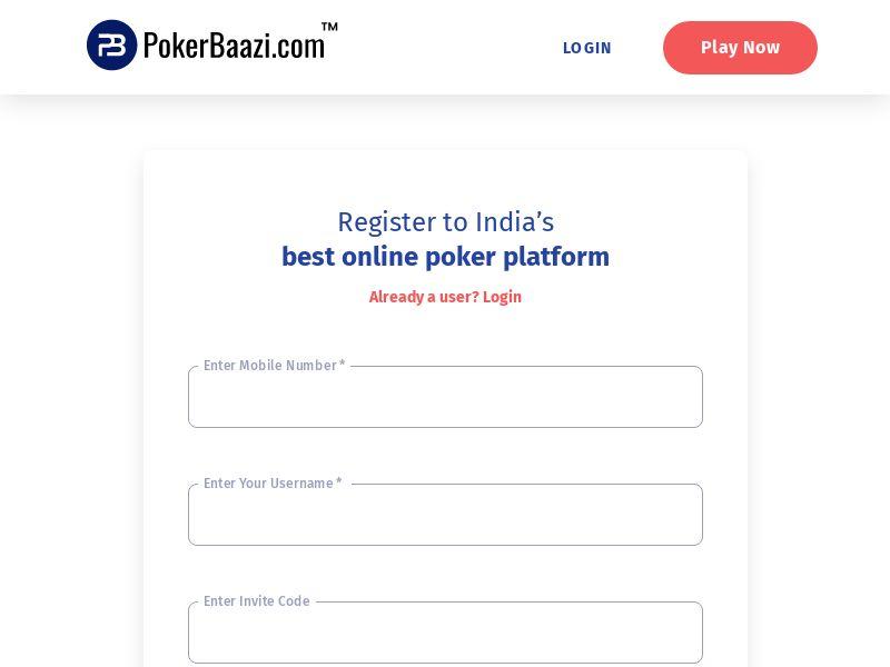 Pokerbaazi.com CPR - India