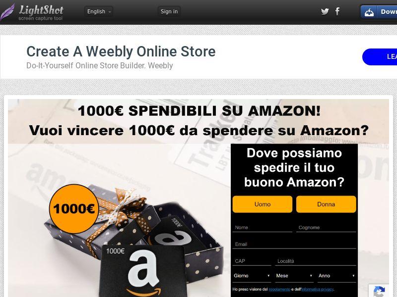 Amazon 1000€ |IT|SOI| Responsive