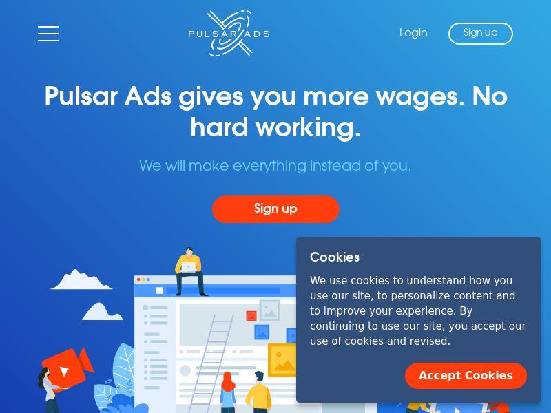 Pulsar Ads Smart Link - Adult (Mobile)