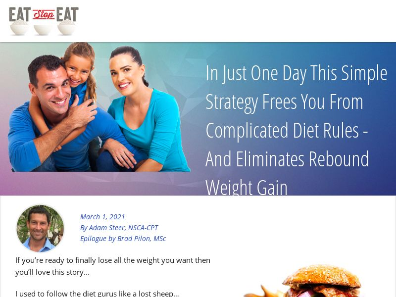 Eat Stop Eat Physical