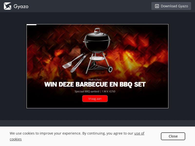 Superdeals - Win Weber Set - NL