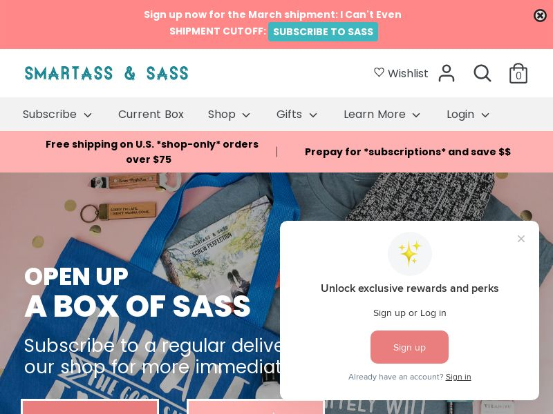 Smartass & Sass_US, CA, UK, MX, AU