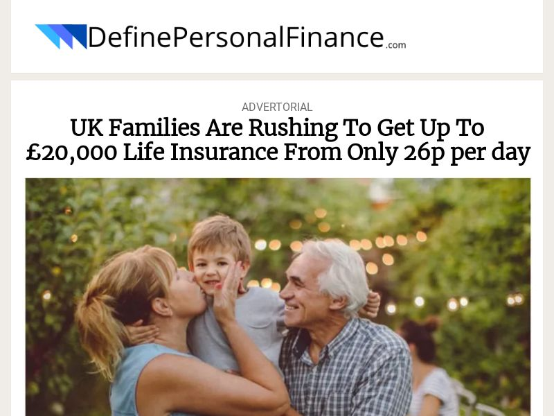 DefinePersonalFinance Life Insurance [UK]|PPL|Responsive