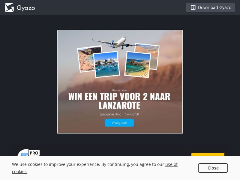 Win Trip to Lanzarote (BE) (CPL)