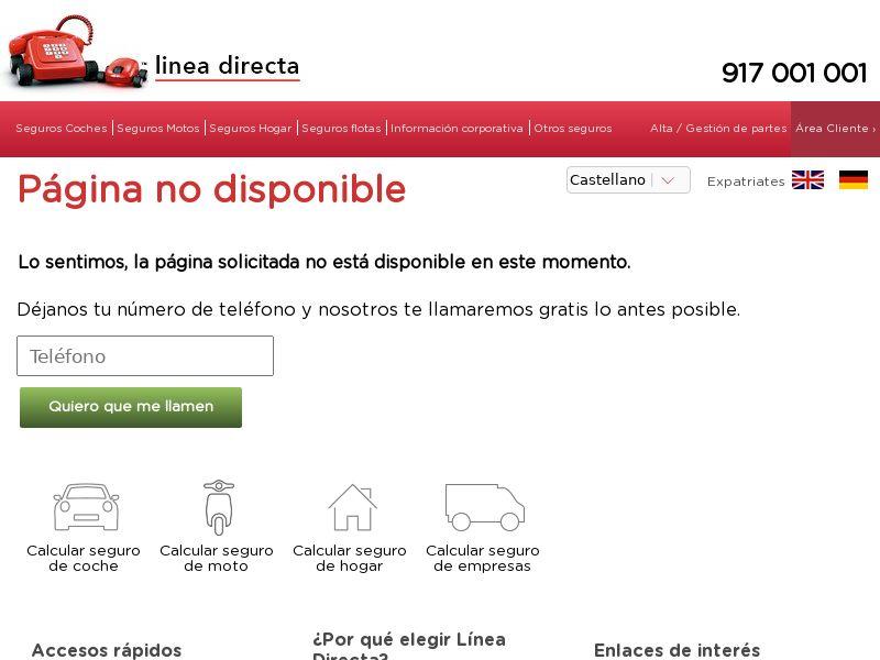Linea Directa - Home - ES - CPL