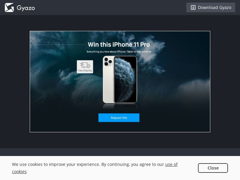 iPhone11 Sweeps - UK - Incent OK