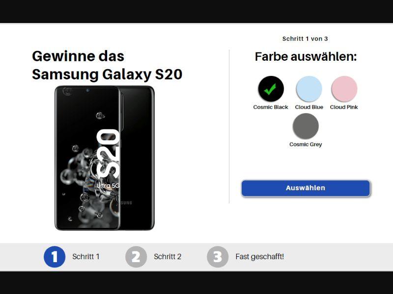 DE - Win Samsung S20 [DE] - SOI registration