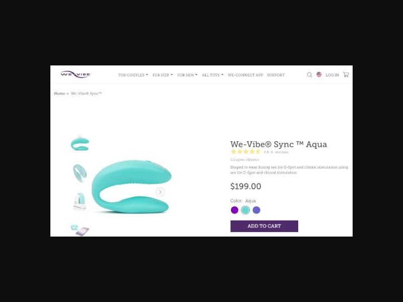 WeVibe - Sex Toy - RevShare (US)