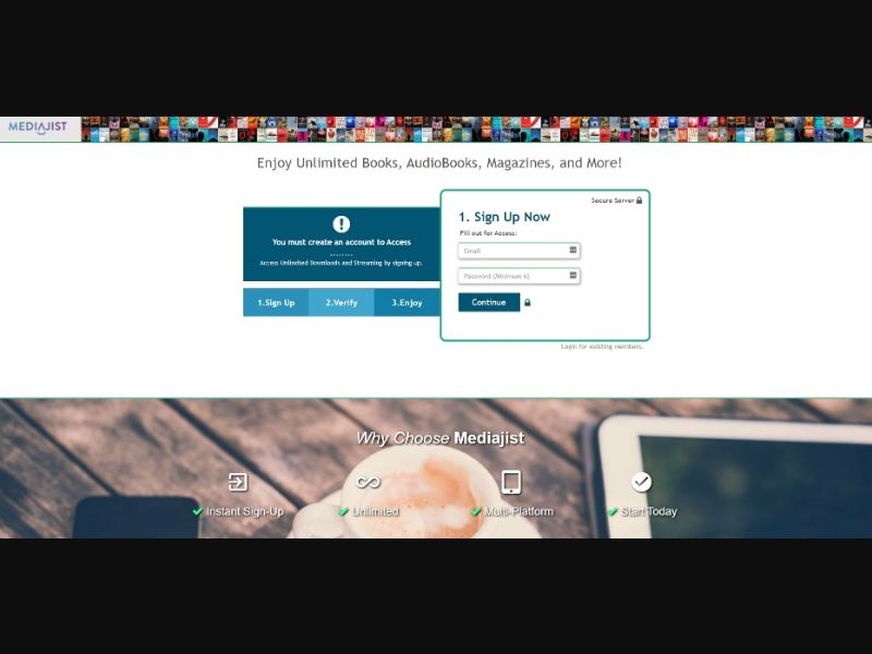 MediaJist StartViewing US | CC Sub