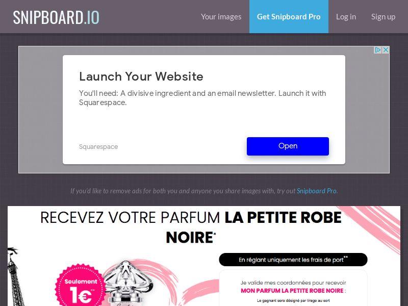 BundleShopping - Perfume Guerlain FR/BE - CC Submit