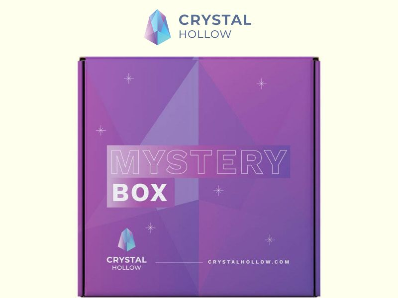 Crystal Hollow Mystery Gem Box Subscription - US