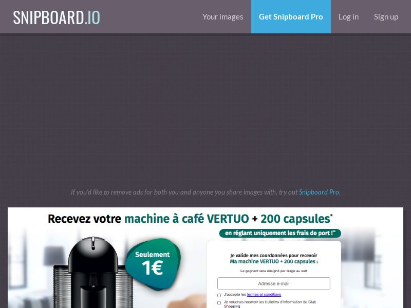 Nespresso Vertuo - CC - FR, BE (BE,FR), [CPA]