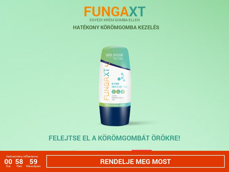 FungaXT HU - antifungal solution