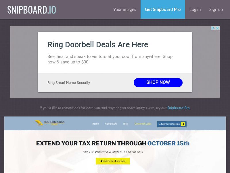 40514 - US - IRS Tax Extension.com - US - CPL - [email/push]
