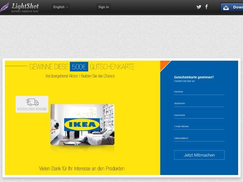 Ikea DE SOI (WEB) Non Incent