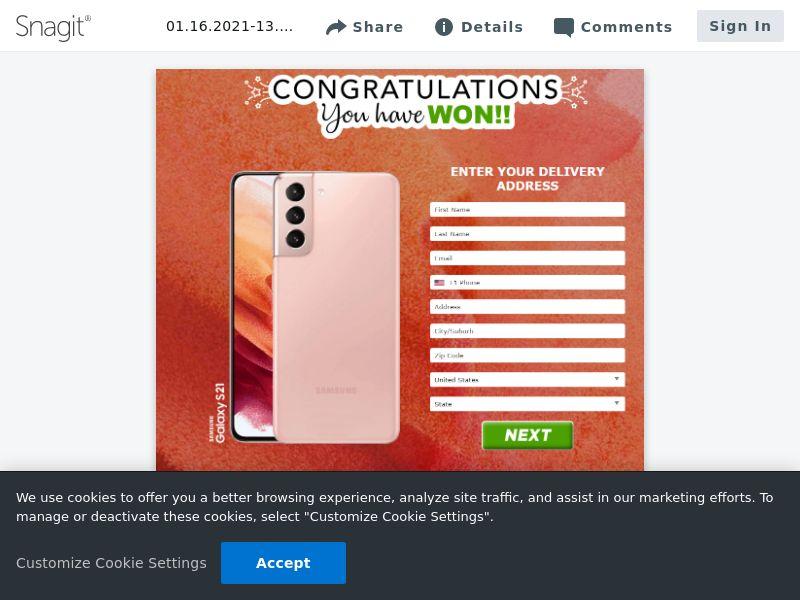 Samsung Galaxy S21 (Orange / Sand) | US