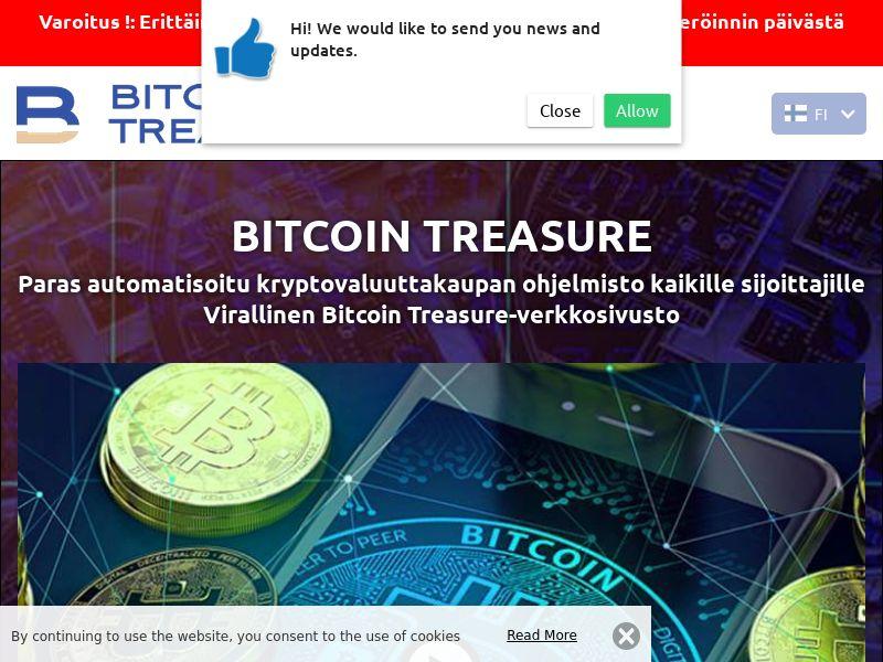 Bitcoin Treasure Finnish 2829
