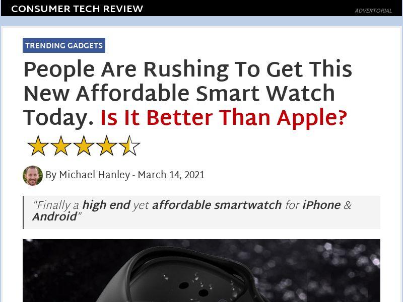 Technik Smart Watch (presell)