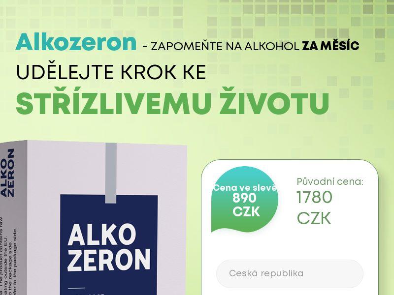 Alkozeron CZ - alcoholism treatment product