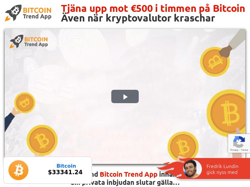 Bitcoin Trend App - SE