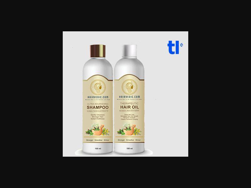 Hairvedic Shampoo - beauty - CPA - COD - Nutra