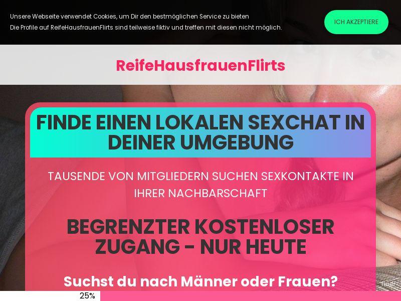 ReifeHausfrauenFlirts