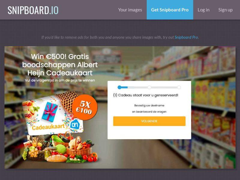 37507 - NL - WinAds - Albert Heijn Supermarket - SOI