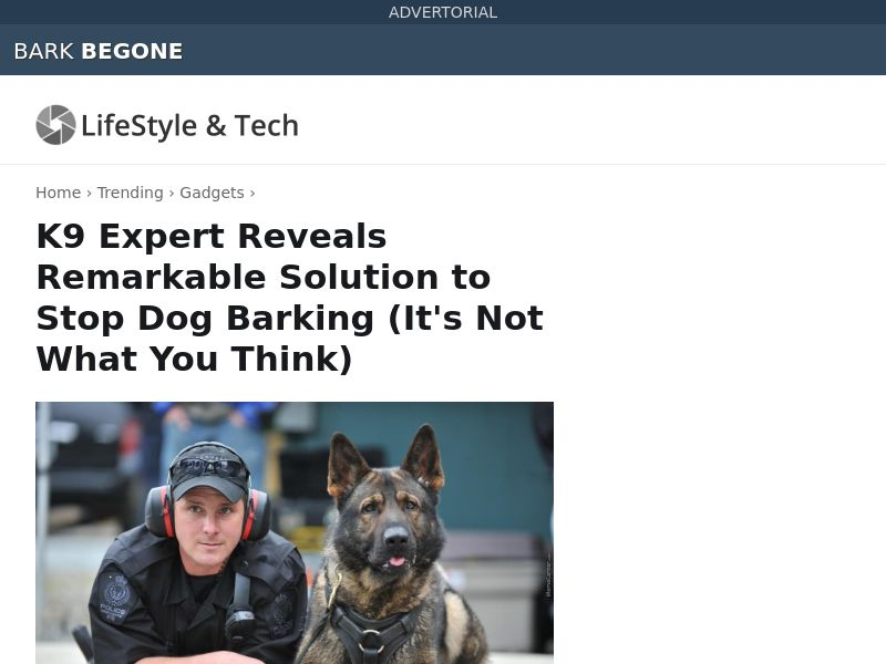 Bark Begone SS - US