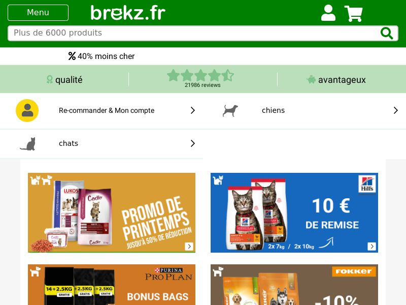 Brekz - FR (FR), [CPS], House and Garden, Animals, For animals, Sell, shop, gift