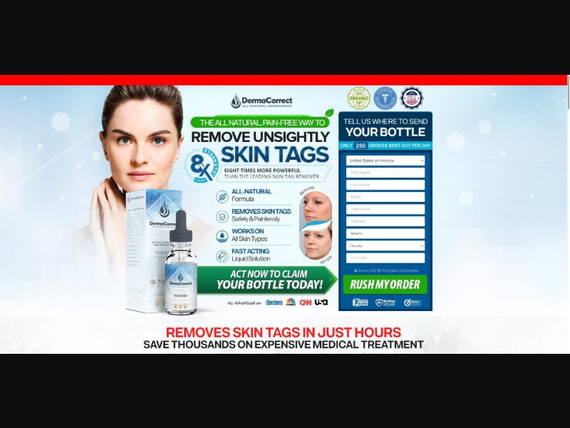 DermaCorrect Mole and Skin Tag Remover - Skin Care - SS - NO SEO - [51 GEOs]