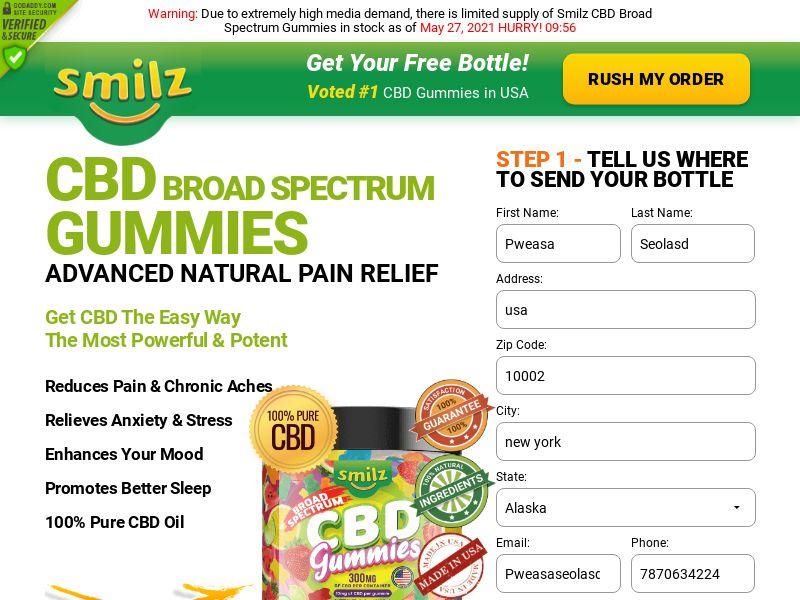 Smilz CBD Gummies (CPA) (US)