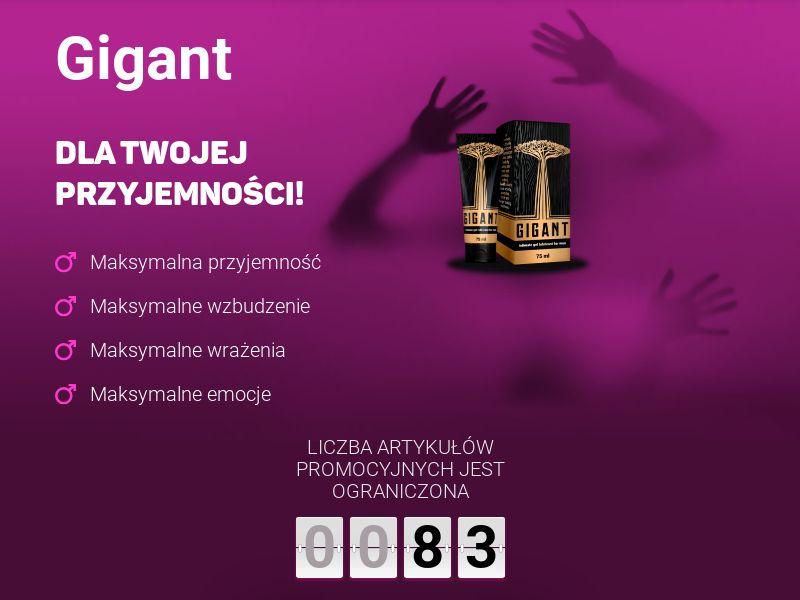 Gigant PL - penis enlargement cream