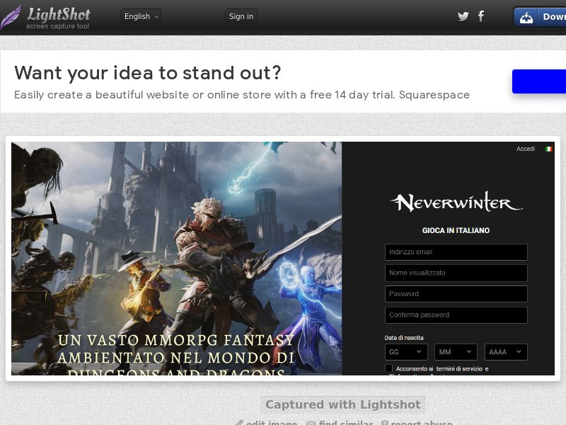 Neverwinter (IT) (CPL) (Personnal Approval)