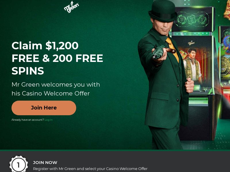 Mr. Green Casino [CA] (Email,Social,Banner,Native,Push,SEO,Search) - CPA