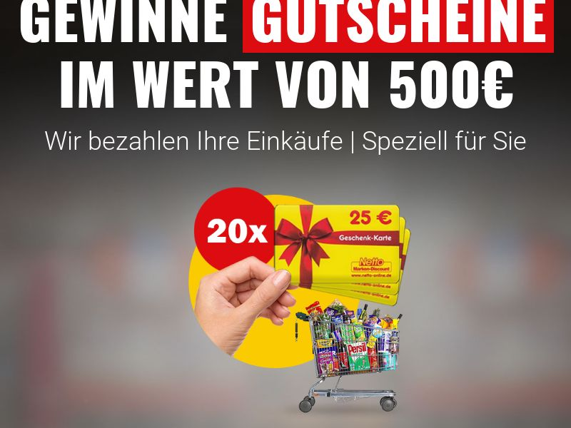 Netto Coupons[DE] (Email,Native,Social,Banner,Push) - CPL