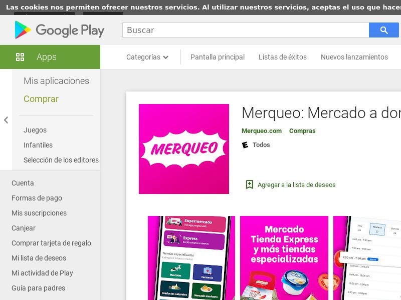 Merqueo | Android CO (CPA)