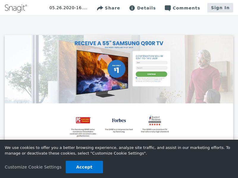 """Samsung 55"""" Q90R TV   DE,JP,NZ"""