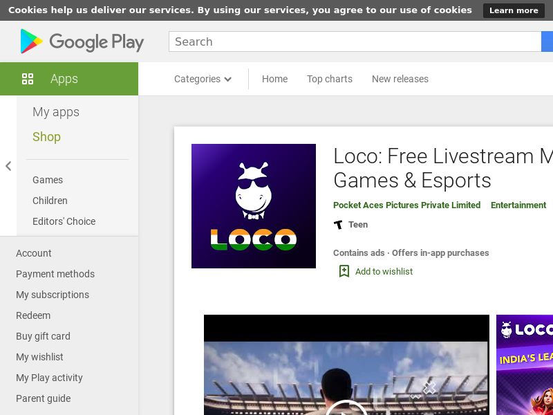 Loco_IN_Android *redirects only with correct GAID* (CPI)