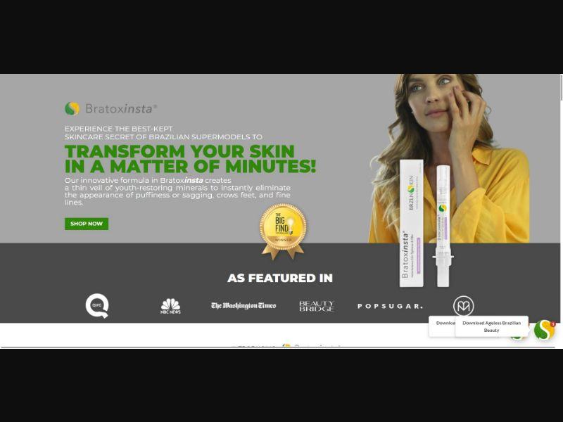 BRZLNSKIN Bratoxinsta - Skin Care - SS - [US]